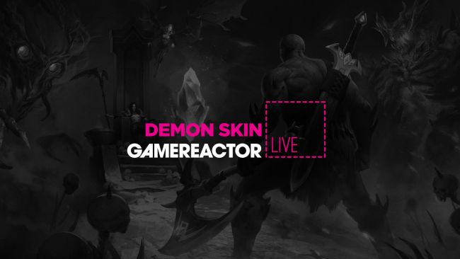 We're playing Demon Skin on today's GR Live