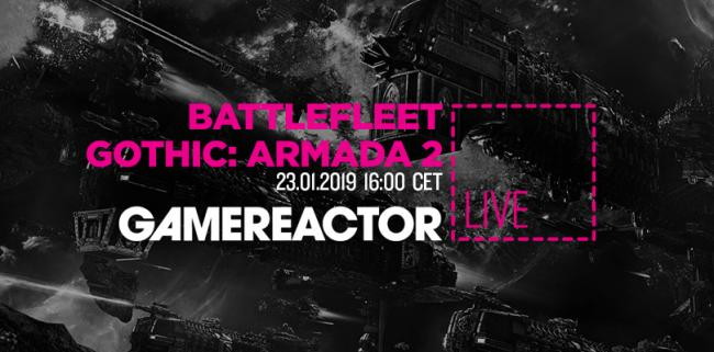 We're streaming Battlefleet Gothic: Armada 2 today
