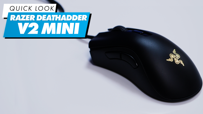 We take a closer look at the Razer Death Adder V2 Mini