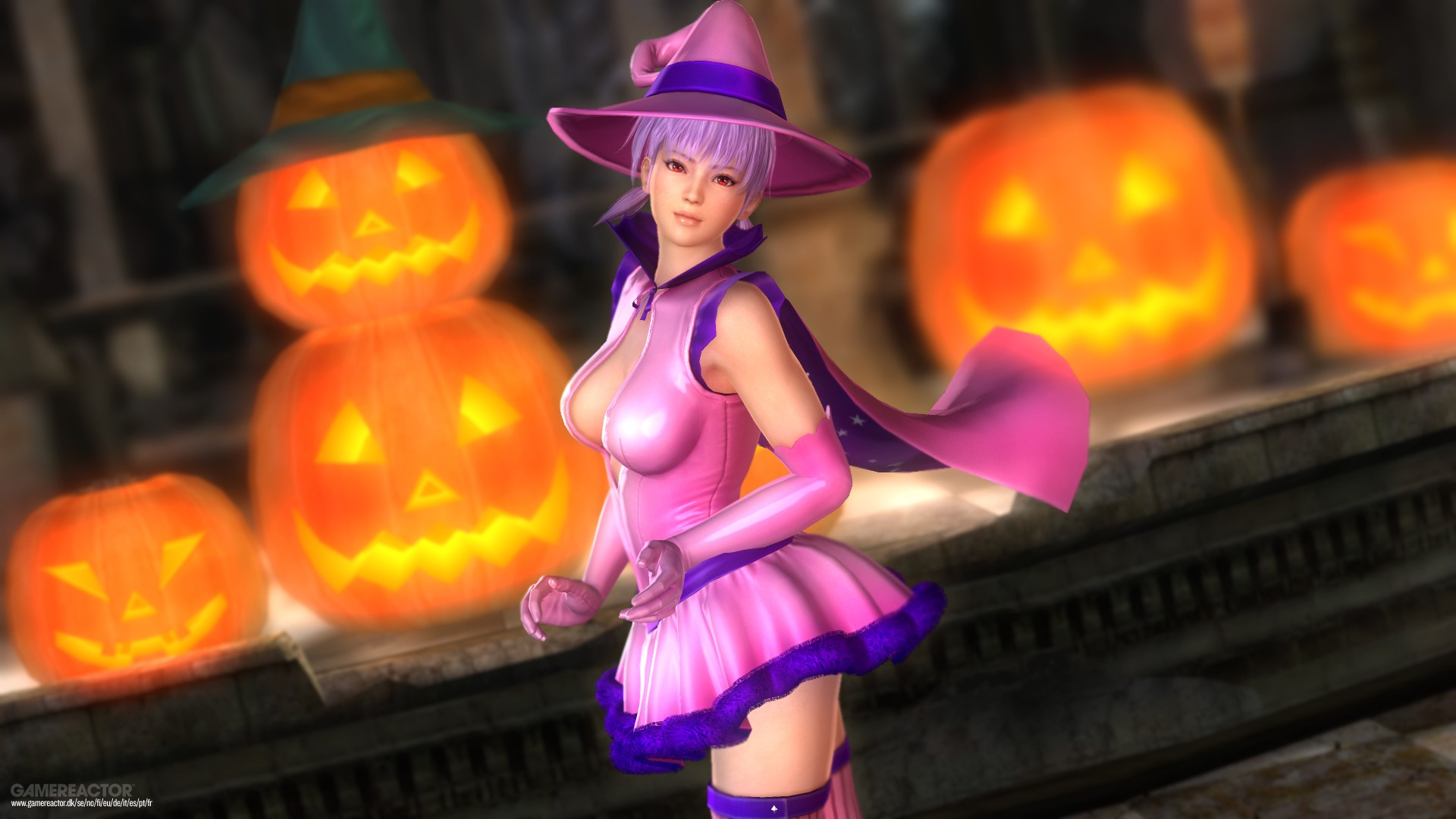 Pictures Of Dead Or Alive 5 Last Round Halloween Dlc 1 7