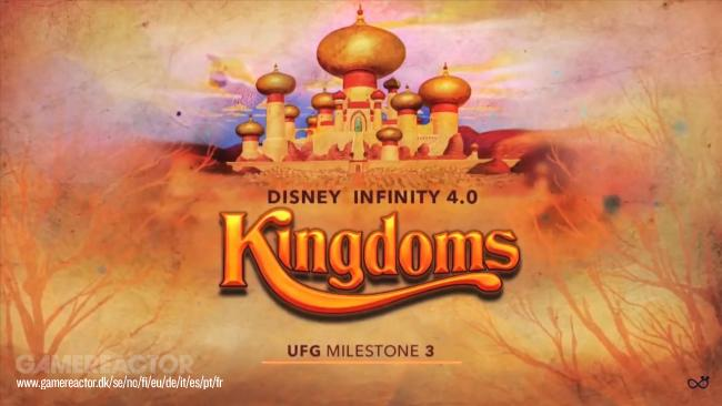 Disney Infinity 4.0 was going to be called Kingdoms