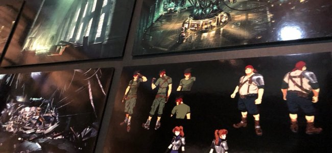 Final Fantasy VII: Remake art shown off at exhibition