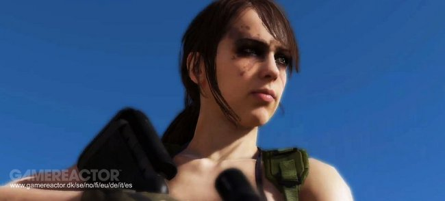 Quiet stars in Metal Gear Online's Cloaked in Silence DLC