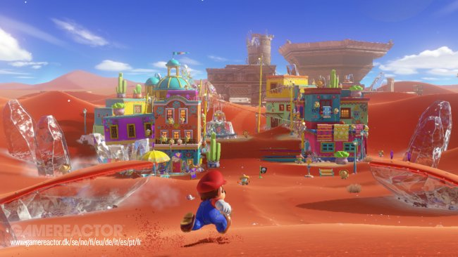 Development on Super Mario Odyssey is practically done