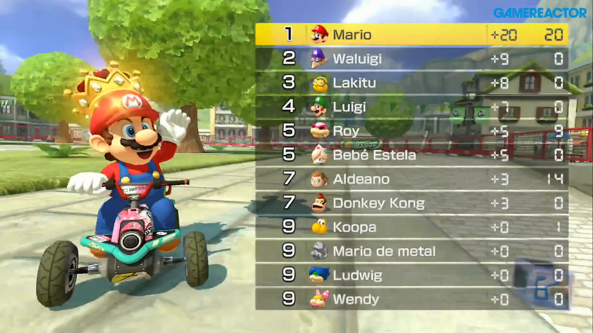 how to dominate in two rounds of mk8 deluxe's shine thief