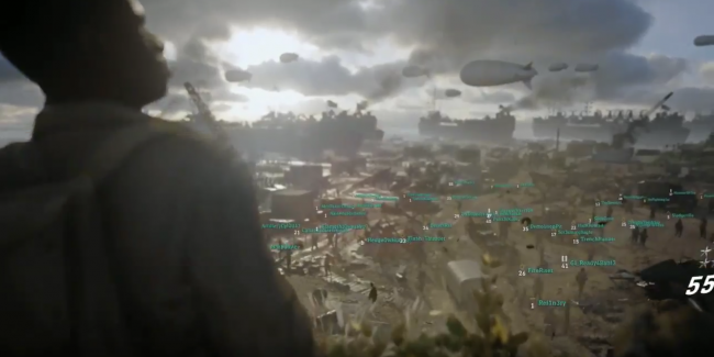 Here's the first look at Call of Duty: WWII's Headquarters mode
