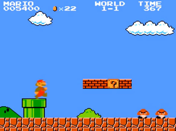 New speedrun world record in Super Mario Bros