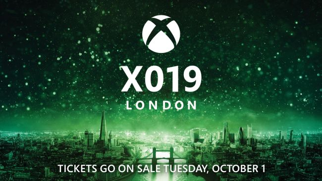 X019 tickets go on sale on October 1