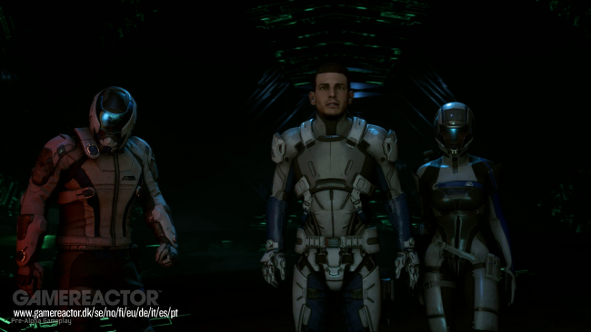 Bioware details teammates in Mass Effect: Andromeda