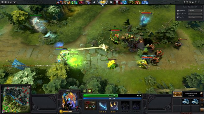 dota 2 is the most played game on steam