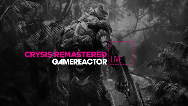 Today on GR Live we are playing Crysis Remastered