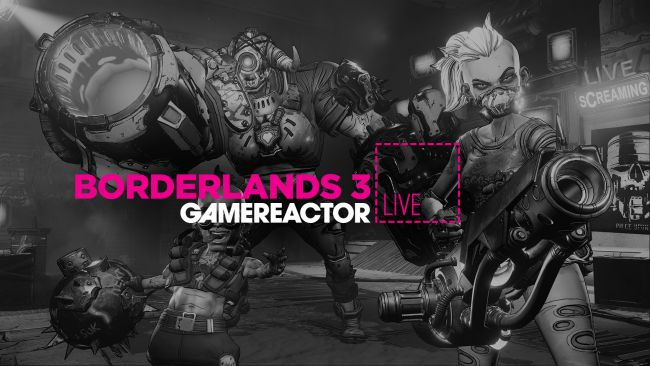 We continue with Borderlands 3 on today's stream