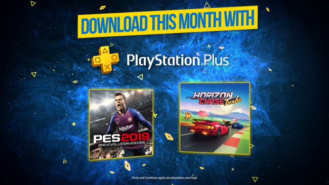 Pro Evolution Soccer 2019 headlines July's PS Plus offering