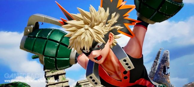 Katsuki Bakugo and Majin Buu land in Jump Force next week