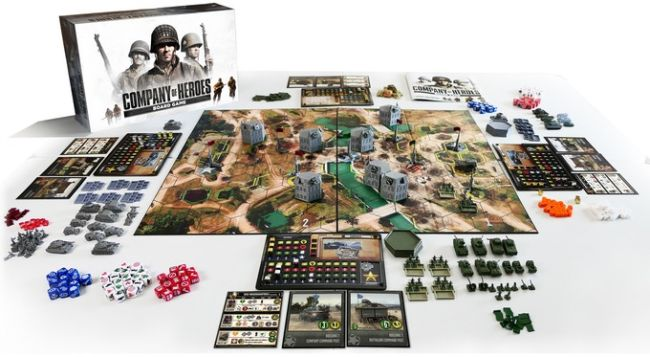 Company of Heroes board game funded on Kickstarter