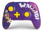 PowerA presents: a Waluigi-themed Enhanced Wireless Controller for Switch