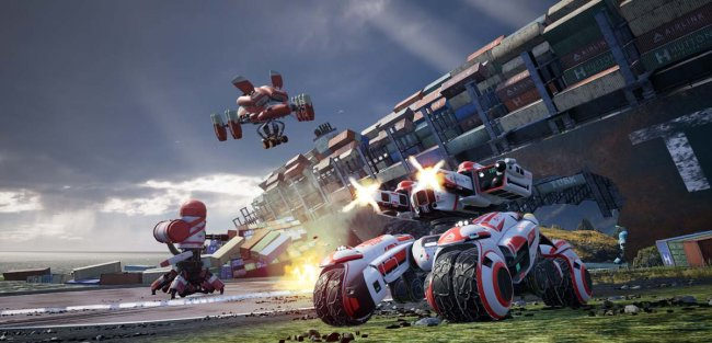 Vehicle-based MOBA Switchblade has launched today