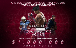 Ultimate Gamer launches Worldwide Open with $1 million total prize pool