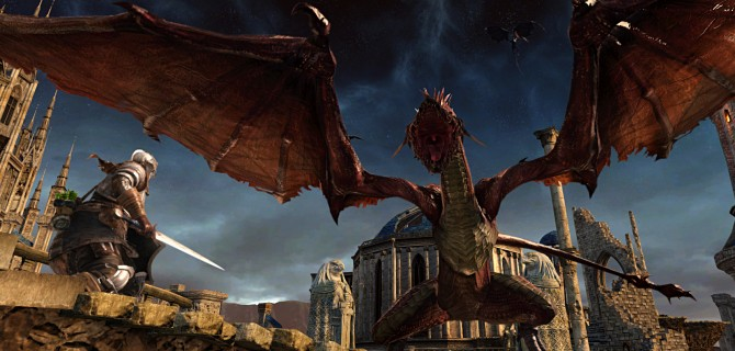 Dark Souls II heading to PS4 and Xbox One