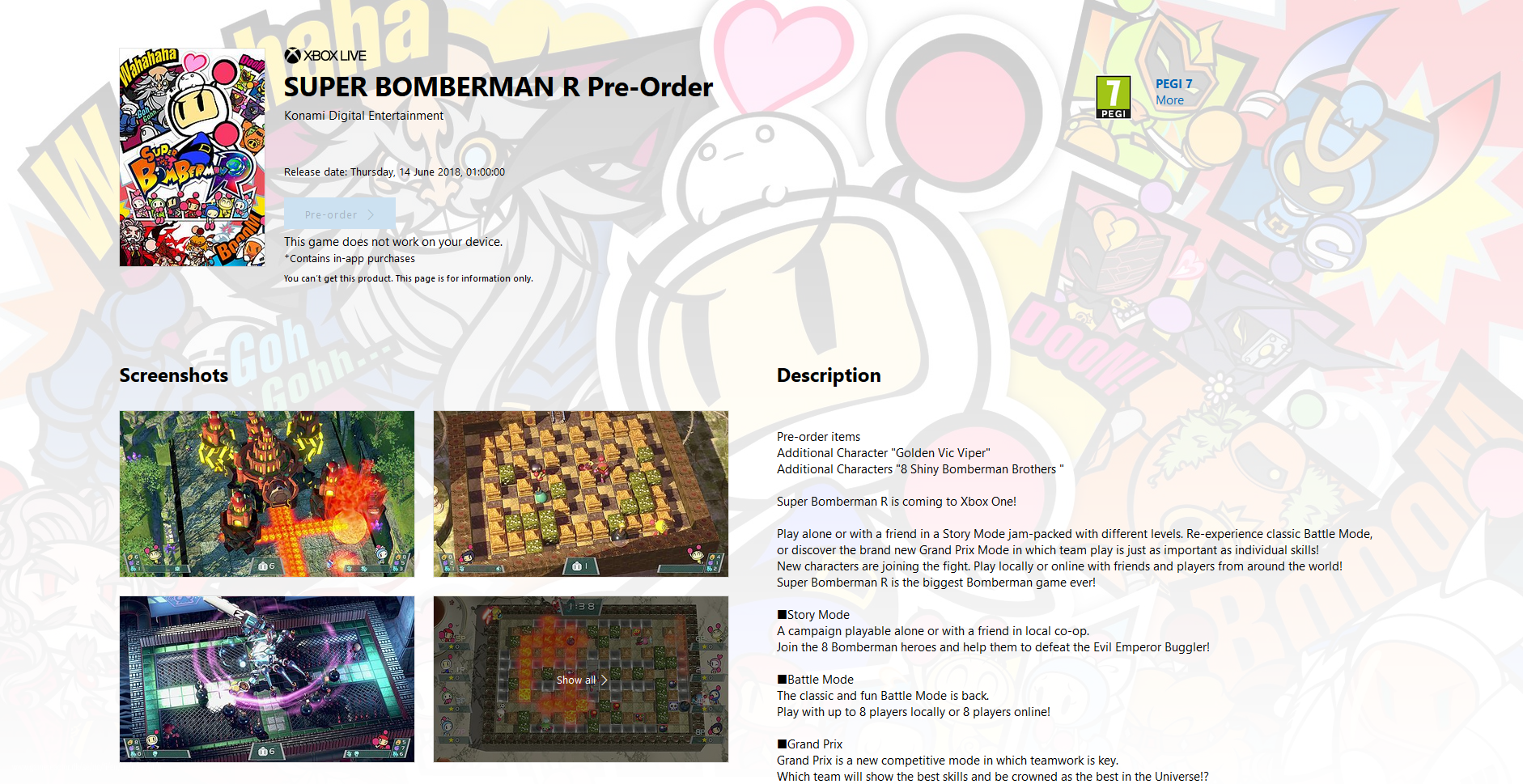 Super Bomberman R Reg 1 Dc5n United States Software In English Created At 2018 03 15 1222 11