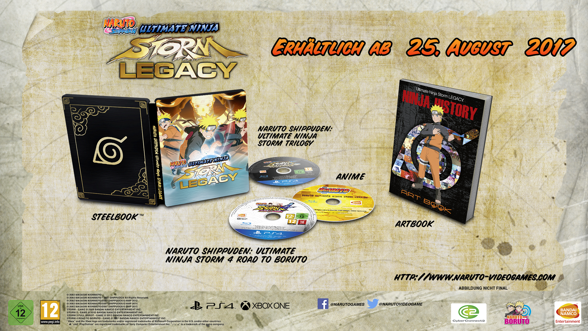 Pictures of Naruto Shippuden: Ultimate Ninja Storm Legacy 5/7