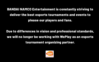 Bandai Namco and NetherRealm has cut ties with tournament organiser WePlay Esports