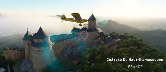 Benelux and France are now looking even better in Microsoft Flight Simulator