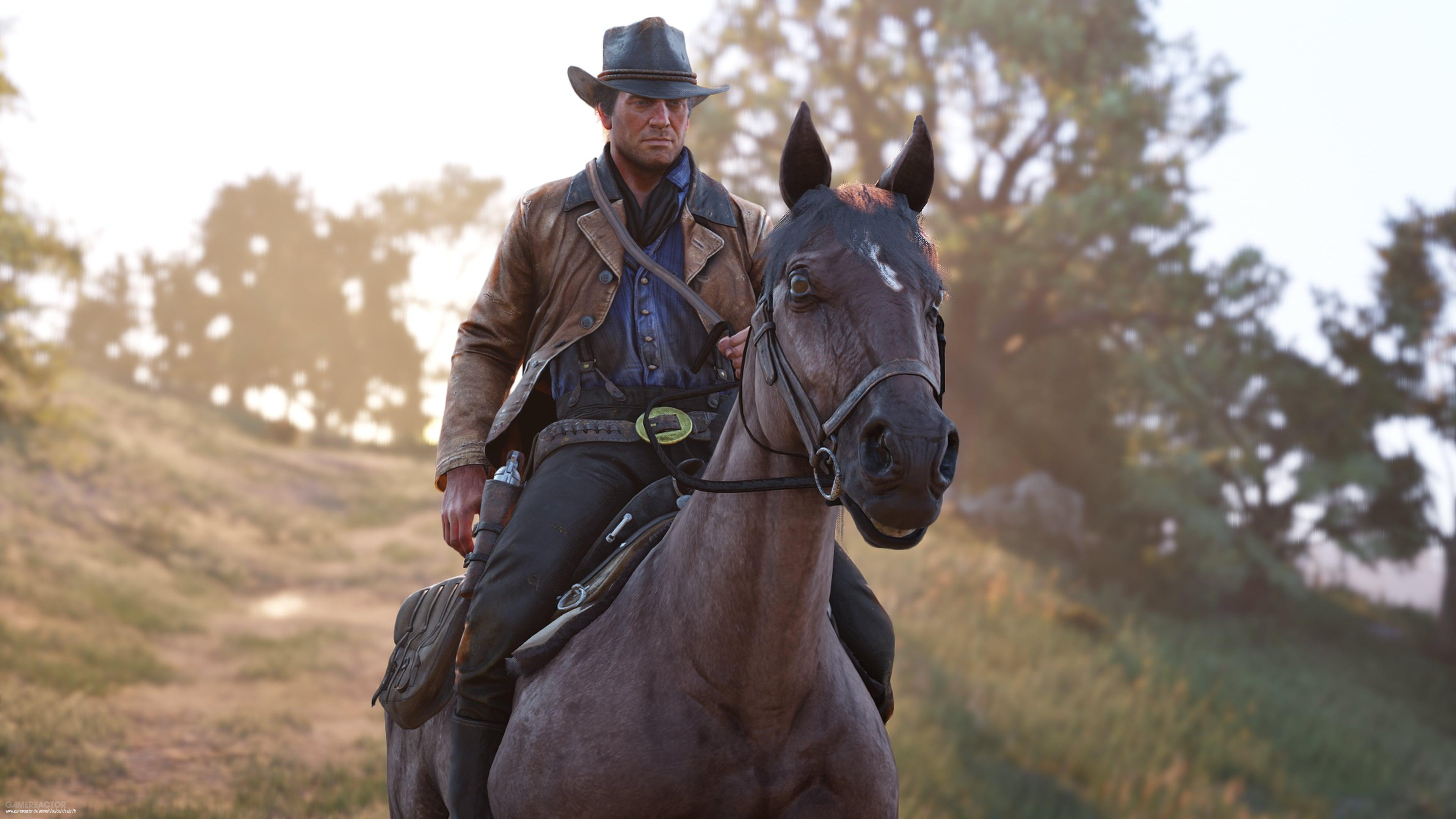 Arthur Morgan Actor Had To Re Record Intimate Horse Lines Red Dead Redemption 2 Gamereactor