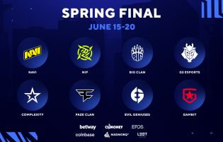 These are the eight teams that will be competing in the 2021 BLAST Premier: Spring Finals