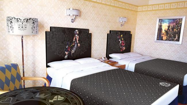 Disney Ambassador Hotel has a Kingdom Hearts room