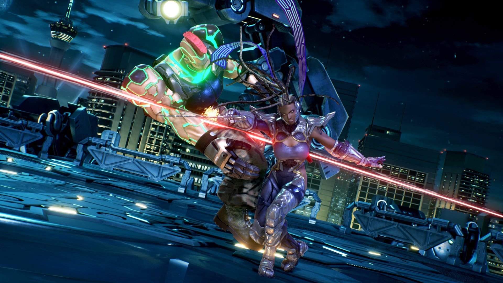 Pictures Of Two New Tekken 7 Characters Revealed 1 1
