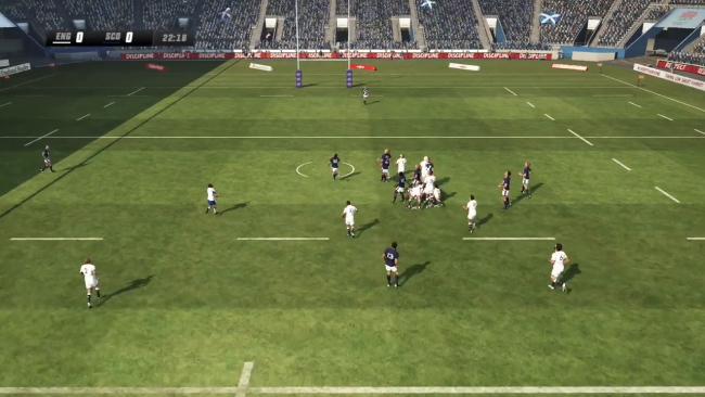 Check out Rugby Challenge 3 in action