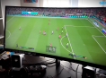 How does football look and play on an ultra-wide screen?