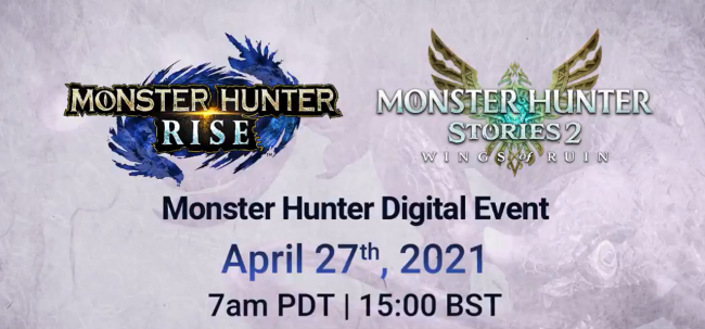 Another Monster Hunter showcase is planned for next week