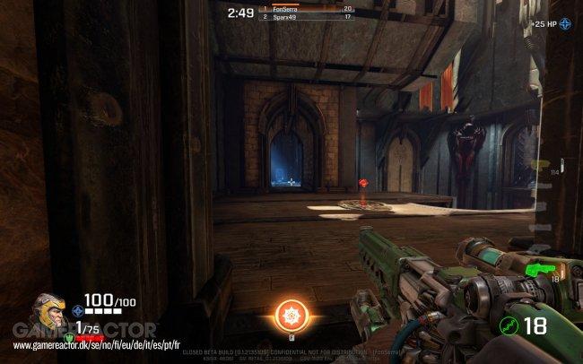 Quake III Arena vs Quake Champions stage comparison