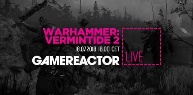 Warhammer: Vermintide 2 is coming up on today's stream