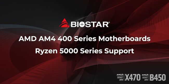 Biostar confirms support of Ryzen 5000 with new BIOS update