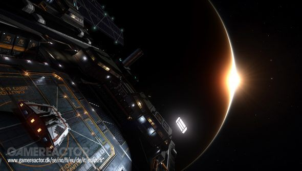 Elite: Dangerous' Gamescom trailer shows Fleet Carriers