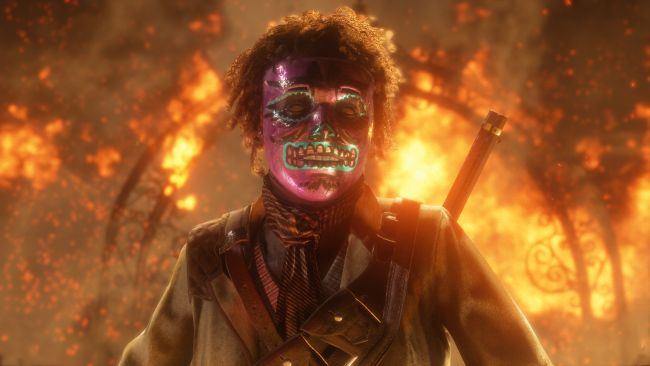 Red Dead Online gets scary masks for Halloween