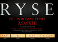 Crytek's Ryse is an Xbox One exclusive