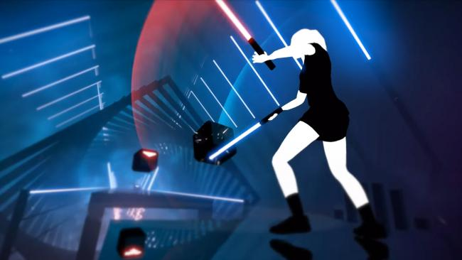Beat Saber bringing the music to deaf players with Subpac
