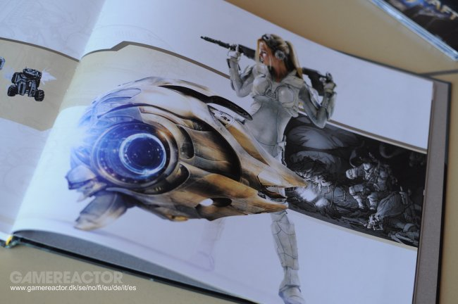 starcraft 2 art book