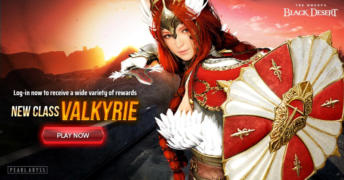 Valkyrie lands in Black Desert Online's SEA servers