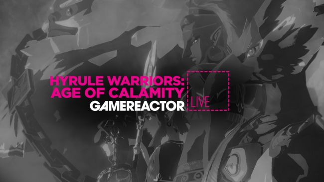 We're playing Hyrule Warriors: Age of Calamity on today's GR Live
