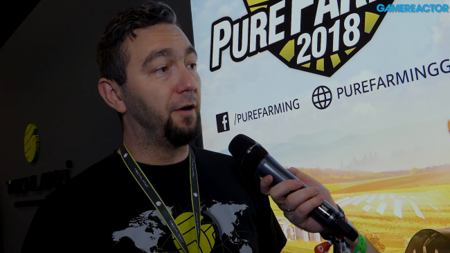 We chat about Pure Farming 2018 with Techland