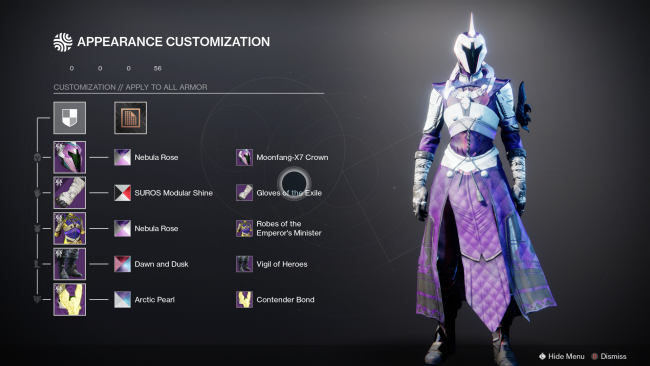 It takes 100 hours to reach the seasonal Destiny 2 transmog cap on one character
