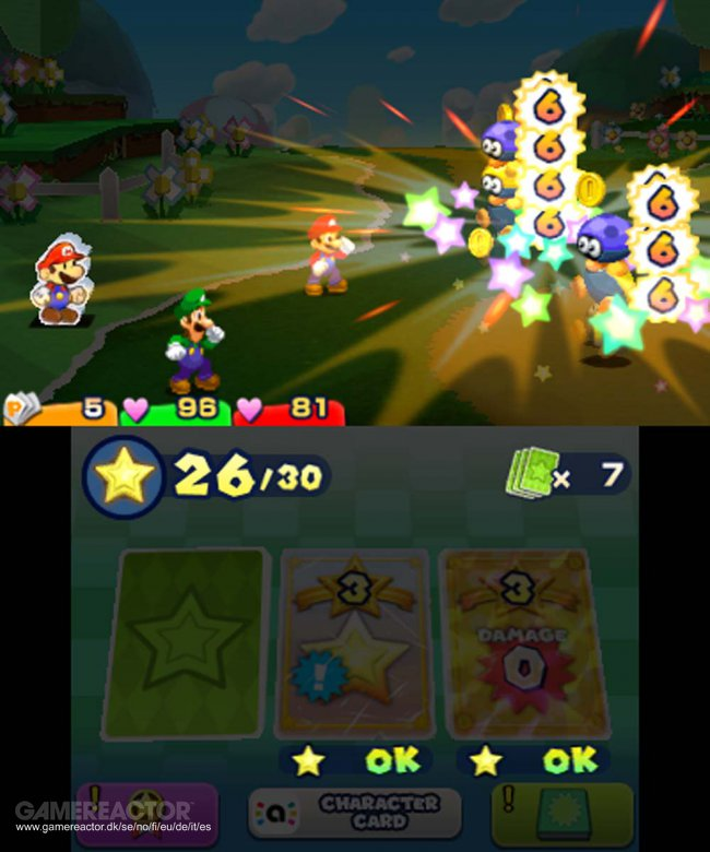 Mario Luigi Paper Jam Bros Review Gamereactor