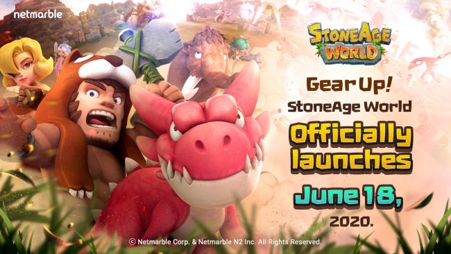 Mobile MMO StoneAge World to release in two weeks