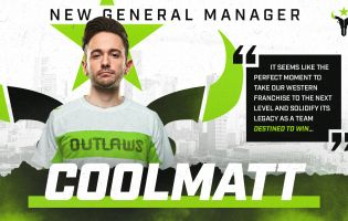 Houston Outlaws welcome Coolmatt as new General Manager