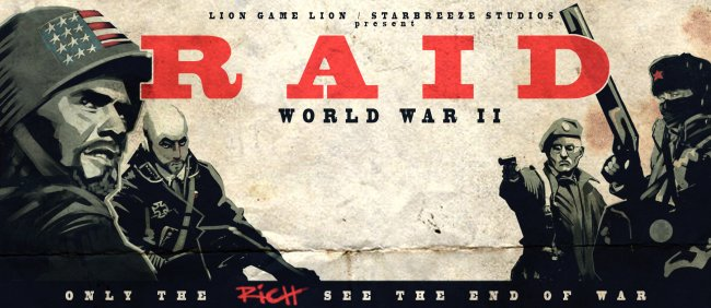 Raid: World War II is coming to consoles
